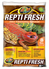 Zoo Med ReptiFresh Odor Eliminating Substrate, Blacks And Grays, 8-Pounds