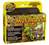 Zoo Med Naturalistic Terrarium Mushroom Ledge, Small Size, 4.5 Inches x 7 Inches