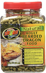 Zoo Med Adult Bearded Dragon Food With Added Vitamins & Trace-Elements 10-Ounce