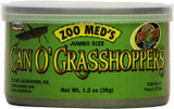 Zoo Med Jumbo Size Can O' Grasshoppers 1.2-Ounce