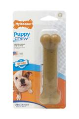 Nylabone Just for Puppies Wolf Chicken Flavored Bone Puppy Dog Teething Chew Toy