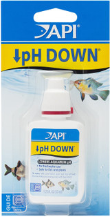 API pH Down For Freshwater Aquariums Safe For Fish & Plants 1.25-Ounce Bottle