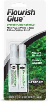 Seachem Flourish Glue Cyanoacrylate Adhesive 2 Pack 0.14-Ounce Each