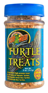 Zoo Med Turtle Treats Whole Krill Excellent High Protein Treat 0.5-Ounce