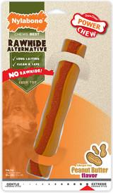 Nylabone Power Chew Rawhide Alternative, Peanut Butter Flavor X-Large Dog Toy