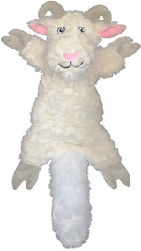 Jolly Pets Fat Tail Large Billy Goat, Tug and Toss Toy For Dogs