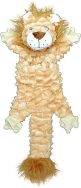 Jolly Pets Fat Tail Large Lion, Tug and Toss Toy For Dogs