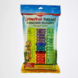 Kaytee CritterTrail Fun-nel Connectable Accessory Straight Tubes - 5 Piece