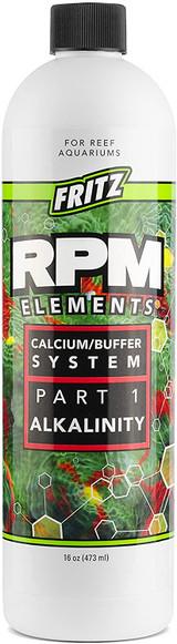 Fritz Aquatics RPM Calcium/Buffer System Part 1 Alkalinity - Reef Aquarium 16-Oz