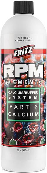 Fritz Aquatics RPM Elemts Calcium/Buffer System Part 2 For Reef Aquarium 16-Oz.