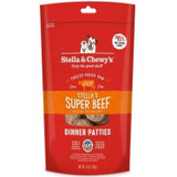 Stella and Chewy's Freeze-Dried Raw Super Beef Dinner Patties for Dogs 14 ounce