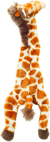 "SPOT Skinneeez Stuffless Toy with Squeaker | Tug-Of-War 14"" Giraffe Dog Toy"