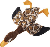 SPOT Skinneeez Stuffless Toy with Squeaker, Tug-Of-War Wild Goose Dog Toy