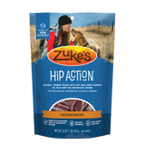 Zuke's Hip Action Roasted Chicken Recipe Formula Pet Healthy Moist Dog Treat 1lb