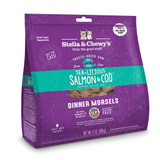 Stella and Chewy's Freeze-Dried Salmon and Cod Dinner Morsels for Cats 8 ounce