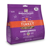 Stella and Chewy's Freeze-Dried Raw Turkey Dinner Morsels for Cats 8 ounce