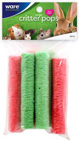 Ware Manufacturing Large Rice Critter Pops Small Animal Chew Treats