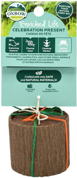 Oxbow Enriched Life Celebration Present With All-Natural Materials
