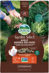 Oxbow Garden Select Adult Guinea Pig Food Natural Vitamins & Minerals 8-Pound