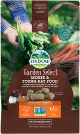 Oxbow Garden Select Mouse & Young Rat Food Natural Vitamins & Minerals 2-Pounds