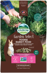 Oxbow Garden Select Young Rabbit Food Natural Vitamins & Minerals 4-Pounds