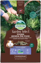 Oxbow Garden Select Young Guinea Pig Food Natural Vitamins & Minerals 4-Pounds