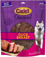 Cadet Gourmet Made With Real Duck Breast Dog Treats 28-Ounces