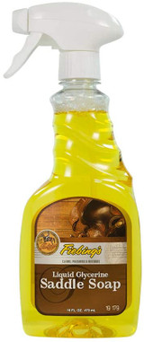 Fiebing's Liquid Glycerine Saddle Soap Cleans Preserves & Restores Leather 16-Oz