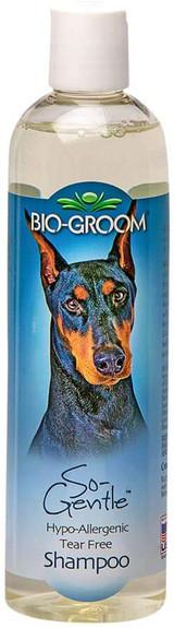 Bio-Groom So-Gentle Hypo-Allergenic Tear Free Shampoo For Pets 12-Ounce