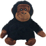 Multipet Look Who's Talking Plush Chimpanzee Dog Toy Realistic Sounds