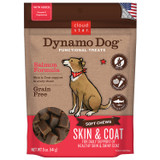 Cloud Star Dynamo Dog Salmon Skin and Coat 5 ounce | Grain Free Soft Treats
