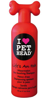 Pet Head Life's an Itch Skin Soothing Shampoo 16.1 oz | Watermelon | For Dogs
