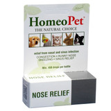 HomeoPet Nose Relief 15 ml | Homeopathic Remedy for Dogs Cats and Birds