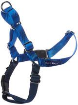 PetSafe Easy Walk Dog Harness Adjustable High-Quality Nylon Safe Medium Blue