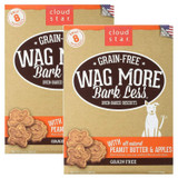 Cloud Star Wag More Bark Less Grain Free Peanut Butter & Apple 14 oz |Dog Treats