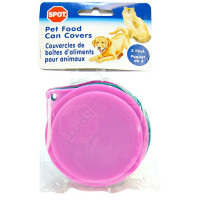 Ethical Products Spot Pet Fresh Food Can Covers Multi Colored 3.5 inch 3 Pack