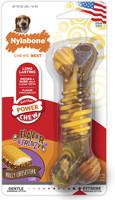 Nylabone DuraChew Flavor Frenzy Cheesesteak Bone Wolf Size | Toy for Dogs