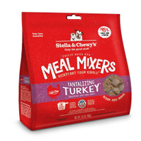 Stella and Chewy's Freeze-DriedTantalizing Turkey Meal Mixers for Dogs 3.5 ounce