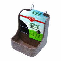 Kaytee Hay and Food Bin Feeder with Quick Locks | Dispenser For Small Animals
