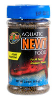 Zoo Med Aquatic Newts Soft Moist High Protein Diet Healthy Frog Food 2.0oz