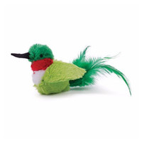 OurPets Play N Squeak Real Bird Buzz Off Interactive Cat Toy Fun Play
