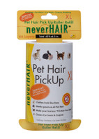NeverHair Dog and Cat Hair Pick Up Roller For Clothing Furniture XL Refill
