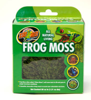 Zoo Med Frog Moss Completely All Natural Living Toads Snakes Reptiles 80 cu/in