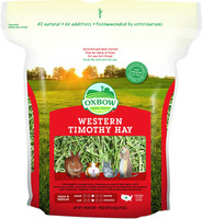 OXBOW Animal Health Western Timothy Hay for Rabbits Guinea Pigs Chinchilla 15 oz