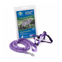 PetSafe COME WITH ME KITTY Cat Harness and Bungee Leash Lilac Medium