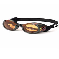 Doggles ILS Flame/Orange Small | Goggles/Sunglasses | Eye Protection for Dogs