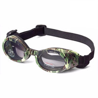 Doggles ILS Camo/Smoke X-Small | Goggles/Sunglasses | Eye Protection for Dogs