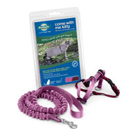 PetSafe COME WITH ME KITTY Cat Harness and Bungee Leash Pink Small
