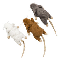 Ethical Pet Spot Super Mouse Sam Toy with Catnip for Cats