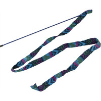 Ethical Pet Spot Cat Prancer Fleece Frenzy Wand Toy for Cats